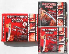 PROFONDO ROSSO COMPILATION VOL 1 VOL 2 CD 2009