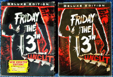 FRIDAY THE 13TH - PART 1  - UNCUT -  DVD + 3-D SLIP COVER - STILL SEALED