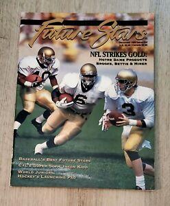 BECKETT FOCUS ON FUTURE STARS-DECEMBER 1993-ISSUE #32-BROOKS, BETTIS, MIRER