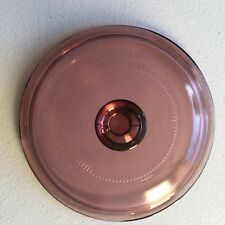 Vintage Pyrex Vision Corning Cookware Cranberry V1C Replacement Lid