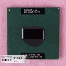 Free shipping SL7V3 Intel Pentium M 765 CPU Processor 2.1 GHz 400 MHz
