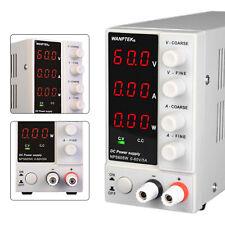 60v 5a Adjustable Dc Power Supply Precision Variable Digital Lab Test Nps605w Us