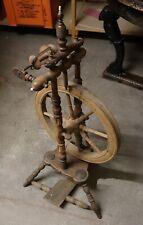 Spinnrad antik, Alter unbekannt, restaurierungsbedürftig