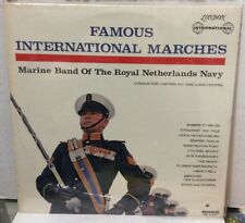 Marine Band Of The Royal Netherlands Navy Famous International Marches Record