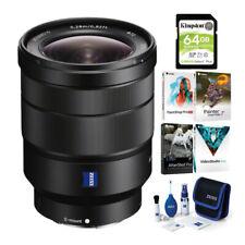 Sony Vario-Tessar T FE 16-35mm f/4 ZA OSS Lens Bundle (4 Items)
