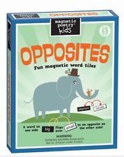 Magnetic Poetry ~ Kids' OPPOSITES ~ Fun Magnetic Word Tiles