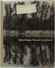 Albert Renger-Patzsch Das Spätwerk / First Edition 1997