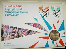London 2012 Olympic & Paralympic Games £5 Coin Cover No.06679 with 4 Stamps