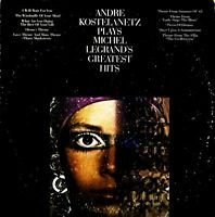 Andre Kostelanetz Plays Michel Legrand's Greatest Hits - Quadraphonic LP
