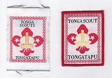 SCOUTS OF TONGA - TONGATAPU SCOUT PATCH (2 VAR.)