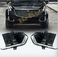Replace Front Fog Light Lamp Bezel Cover Side*2 FOR 2017-2020 Cadillac XT5