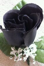 Rose Boutonniere*Corsage Black, *Groom*Best man*Prom*Party*Quinceanera
