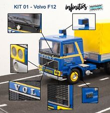 Fotograbados Volvo F12 Altaya 1:43 IXO Photoetched photogravure truck camion lkw
