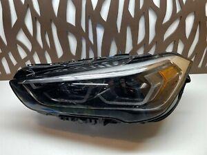 2020 2021 BMW F48 X1 LCI LEFT Driver Side LED Headlight OEM 63117472260