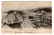 Village POINTE AU PIC Murray Bay Quebec Canada 1906 Bilaudeau Campbell Postcard