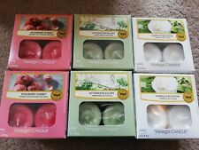 Yankee Candle NEW Bundle 6 Boxes of 12 fragranced Tealights 2020 FRAGRANCES