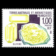 TAAF 1995 - Minerals Nature - Sc 203 MNH