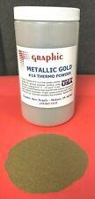 THERMOGRAPHY POWDER METALLIC GOLD #14 NEW 1 POUND