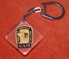 Porte-clé Keychain Bourbon Crédit Agricole Mutuel C A M CAM
