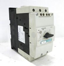 Siemens 3RV1042-4JB10 Sirius Motor Protector Controller Breaker 45-63A