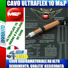 ULTRAFLEX 10 MESSI e PAOLONI CAVO COASSIALE A BASSA PERDITA 10,3mm (come rg213)