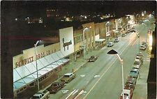 A View of the Shops on Front Street at Night, Beaver Dam WI
