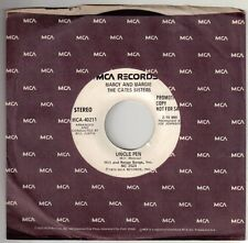 CATES SISTERS, THE  (Uncle Pen)  MCA 40211 = EARLY PROMO RECORD