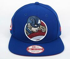 New Era Men's Marvel Comics Captain America Retro Hero Shield 950 Snapback Cap