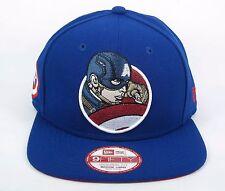 New Era Men's Marvel Comics Captain America Retro Flect 9FIFTY Snapback Cap