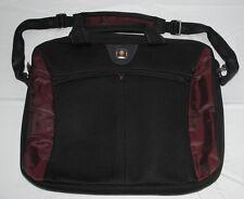 Swiss Gear Laptop Bag SwissGear The Angle Computer Briefcase Wenger Black Purple