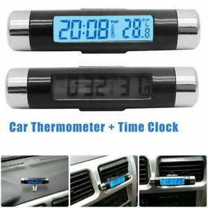 LCD Innen/Außen Thermometer ℃ / ℉ Umschaltbar für PKW Auto LKW KFZ Temperatur