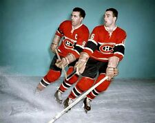 Henri Richard, Maurice Richard Montreal Canadiens 8x10 Photo