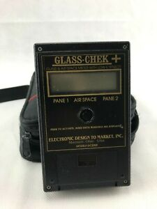 Glass-Chek+ GC2000 Digital Glass Thickness Meter with Low-e Sensor