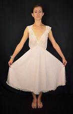 NWOT Vintage 50's Bert Abramson AMOURELLE Pink Rockabilly Nightgown Negligee S/M