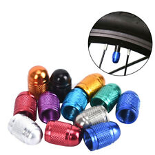 4XAluminum Bullet Bicycle Car Truck Air Port Cover Tire Wheel Valve Stem CHFUK