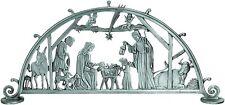 Standing Metal Nativity Scene Christmas Holiday Centerpiece