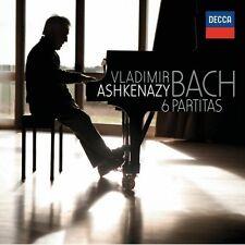 Vladimir Ashkenazy - 6 Partitas BWV 825-830 [New CD]