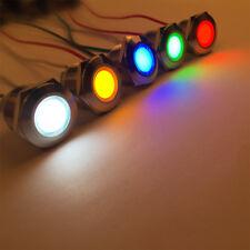 LED Metal Indicator light 19mm waterproof Signal lamp LIGHT 3V 6V 12V 24V 220v