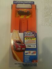 Hot Wheels, Track Builder, Straight Track Includes 15 Feet Of Track