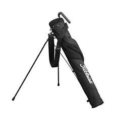 Used Twice! Titleist Club Case Self Stand Carry Bag- Black