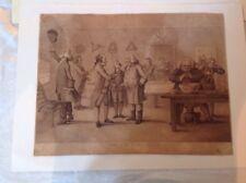 Antque Etching Bunbury 1788 The Country Club
