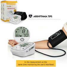 Arm Blood Pressure Pulse Monitor Digital LCD Upper Sphygmomanometer Health Care