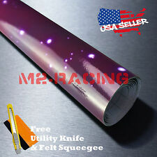 "*12""x60"" Gloss Stardust Galaxy Vinyl Sticker Printed Graphic Decal Wallpaper S01"