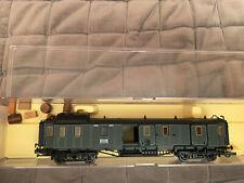 Trix 23764 Fourgon Pw4ü bay 06 Caisse verte «train express bavarois» KBayStsB HO
