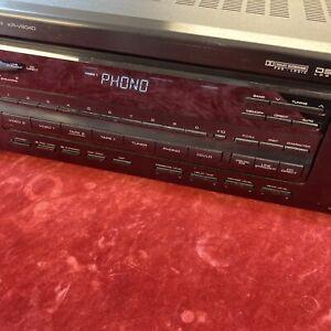 Vintage 1992 Kenwood Amp KR V8040 AV Stereo Receiver 200W 5.1 Phono Input/preamp
