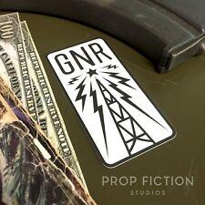 Fallout - Prop Galaxy News Radio Case Sticker / GNR Wasteland Equipment Decal
