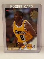 KOBE BRYANT rookie card nba hoops #281 1996-97. Super Rare Rc Hof Lakers Mint