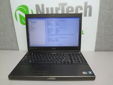 "Dell Precision M4600 15.6"" i7-2920M 2.5GHz 8GB NO HDD Webcam DVD/RW Laptop NO AC"