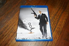 BLU RAY JAMES BOND 007 DANIEL CRAIG QUANTUM OF SOLACE COMME NEUF