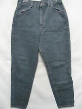 A5808 Riders Black Green USA Made Cool Jeans Women 14P